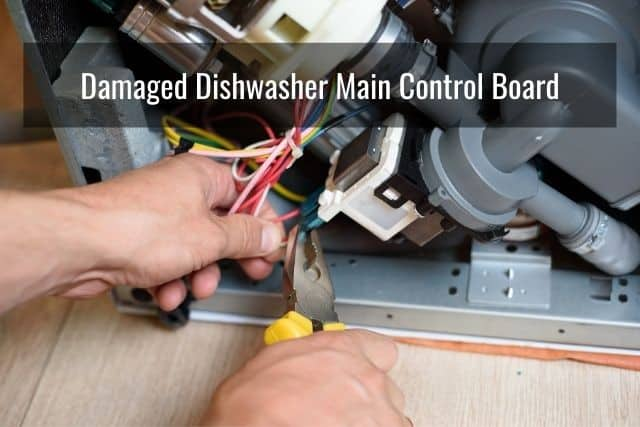 Damaged Electronic Control Panel or Timer