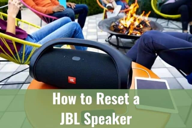 How to Reset a JBL Speaker