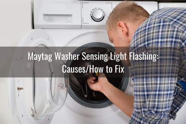 Maytag Washer Sensing Light Flashing: Causes/How to Fix