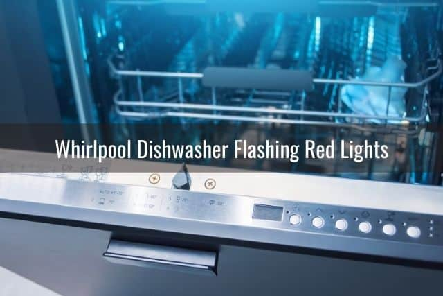 Whirlpool Dishwasher Lights Flashing Not Working Problems Ready To Diy