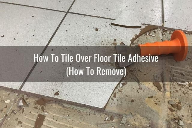 Tile floor removal
