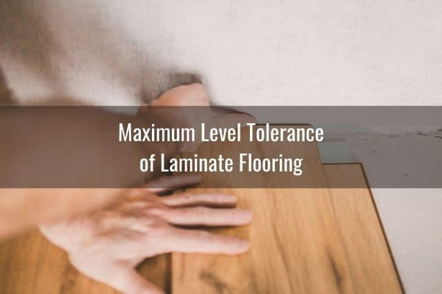 Install Laminate On Uneven Concrete, How To Install Laminate Flooring On Uneven Concrete Floor