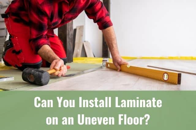 Installation of laminate floor